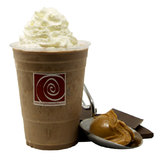 Frozen Peanut Butter Hot Chocolate